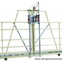 panel saw with optional accessories