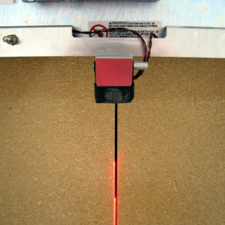 laser line for aligning cuts accurately and precisely