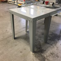 Table extension for the top panel router
