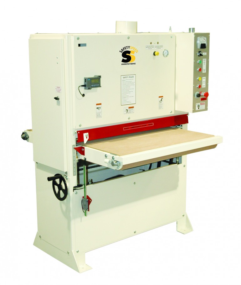 wide belt sander, high quality panel processing machinery