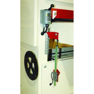 Wide Belt Sander lift table for adjustin depth