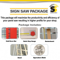 Sign Saw Package