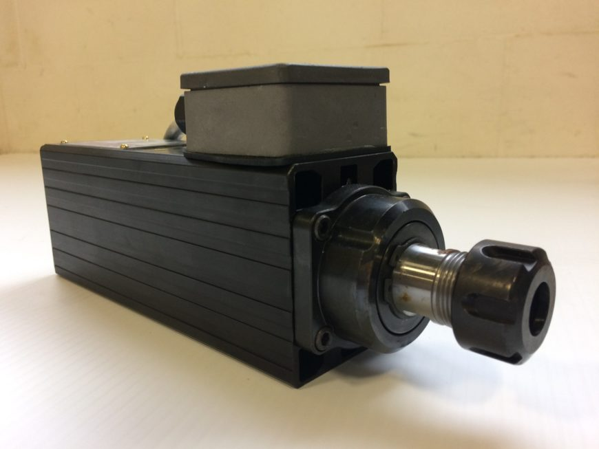 Heavy-Duty Spindle Motor for screw pocket production