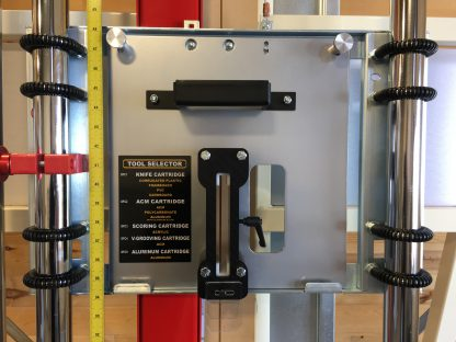 corrugated plastic, foamboard, PVC, cardboard, ACM, polycarbonate, aluminum, acyrylic, and aluminum cutting apparatus