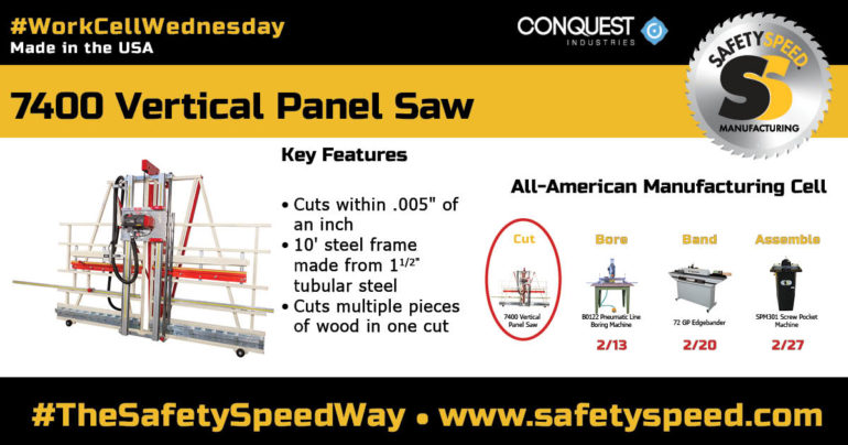 "industrial panel saw that cuts within .005"" straight and square"