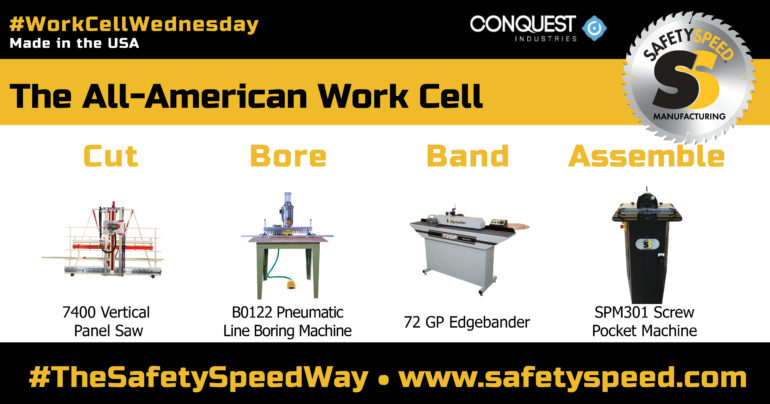Safety Speed Manufacturing Work Cell Wednesday Promotion