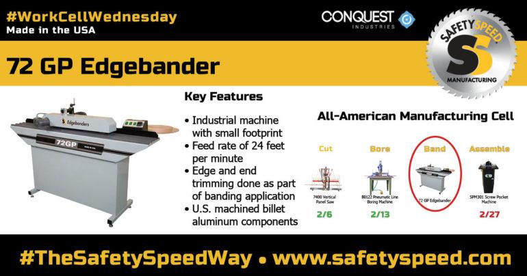 Safety Speed Manufacturing Edgebander