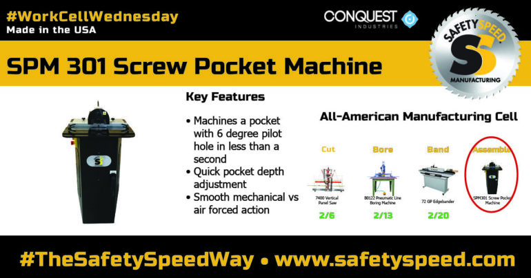 Safety Speed Manufacturing, Work Cell Wednesday, SPM 301
