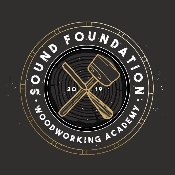 Sound Foundation Woodworking Logo