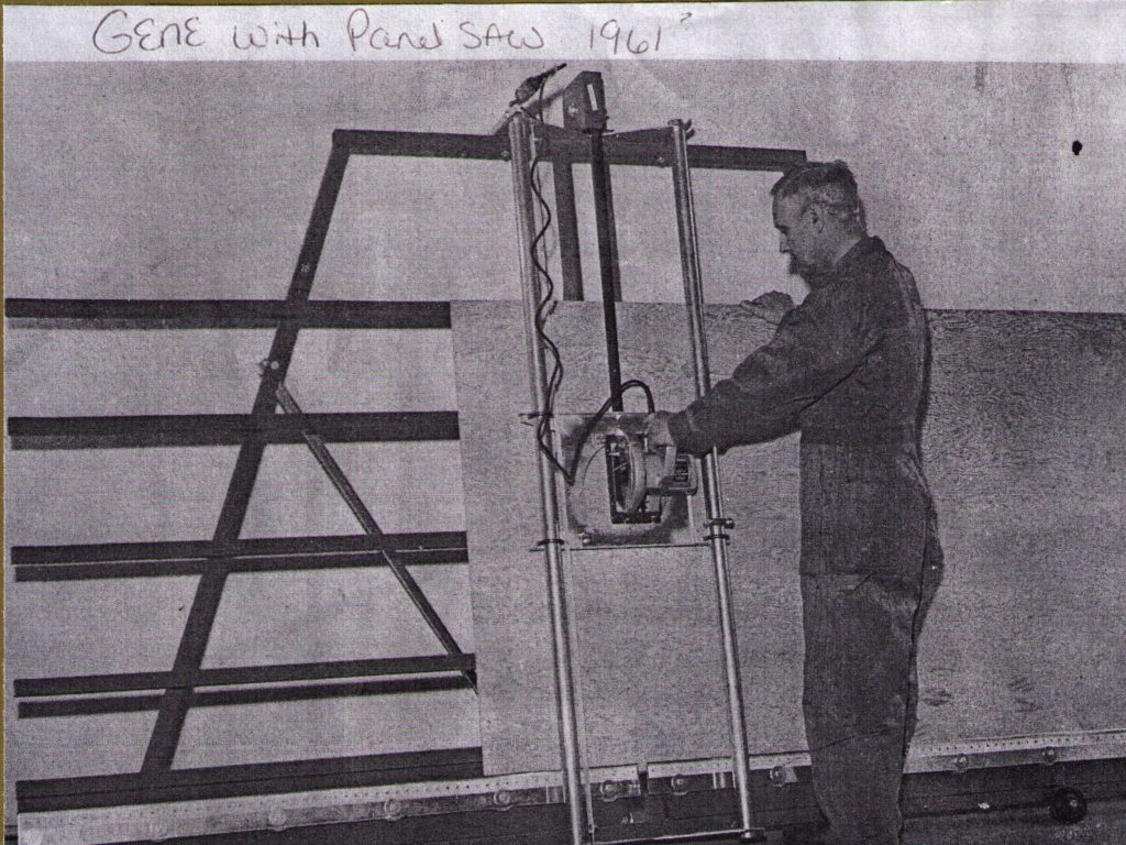 Vertical Panel Saw inventor