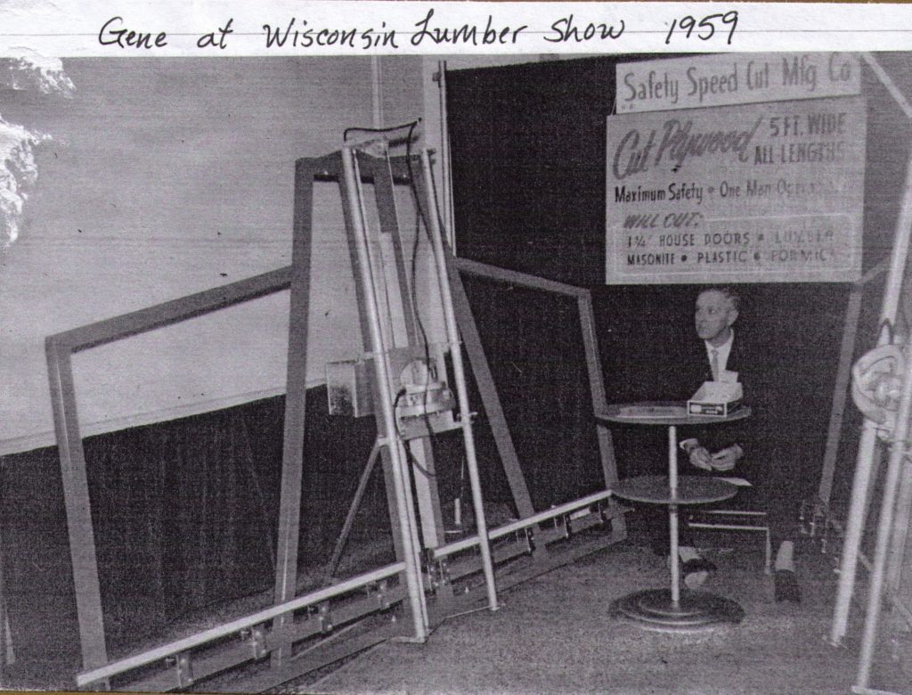 Inventor of the Vertical Panel Saw, Gene Olson