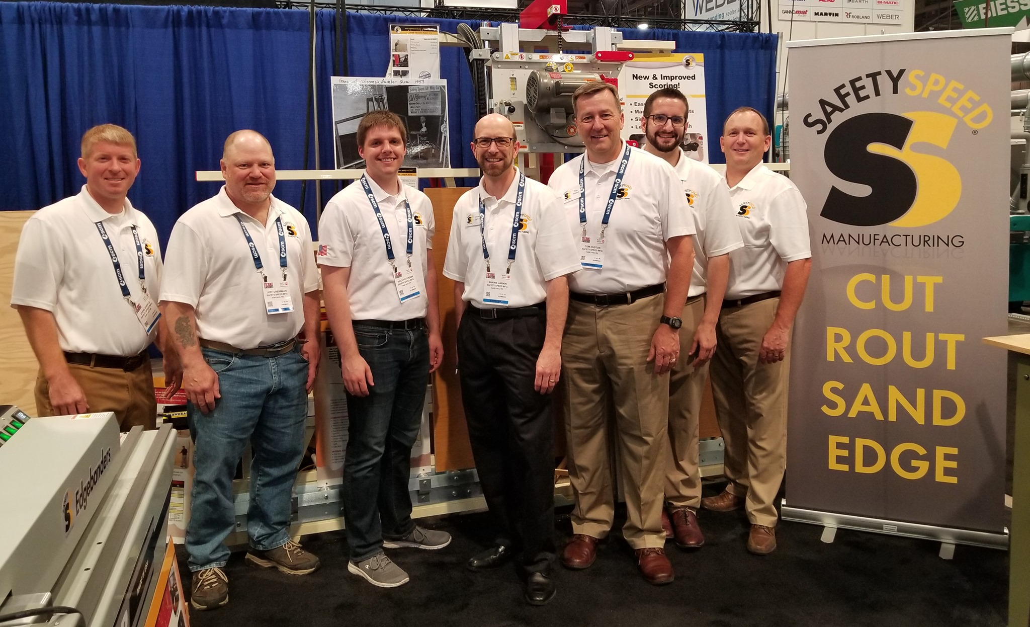 staff of America's leading manufacturer of vertical panel saws