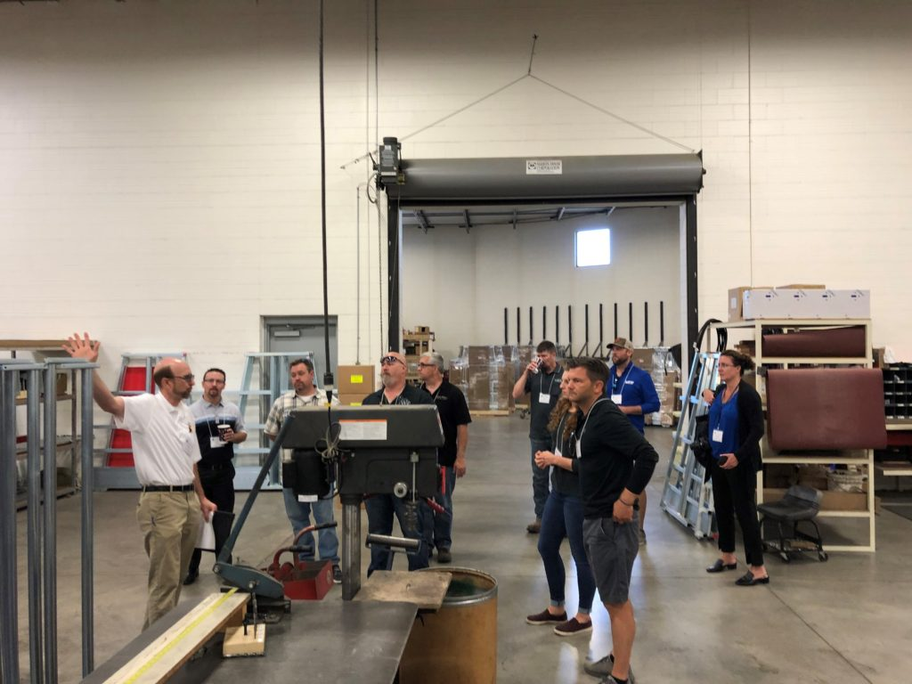 Cabinet Makers Touring American Made Panel Processing Machinery